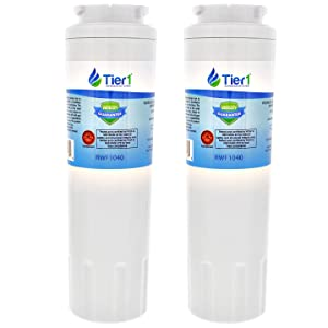 Tier1 Replacement for Maytag UKF8001, EDR4RXD1, PUR, Jenn-Air, Puriclean II, 469006, 469005 Refrigerator Water Filter 2 Pack