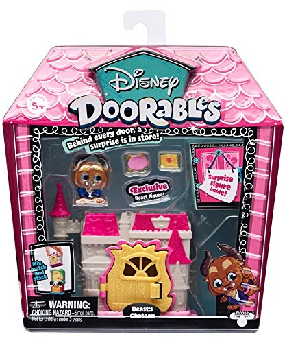 Disney Doorables Mini Stack Playset -Beauty and The Beast