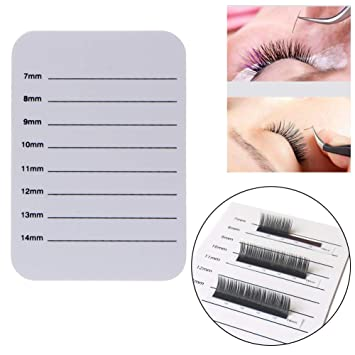 Individual Eyelash Extension Hand Plate Holder Lash Tray Strip Palette 14mm 15mm Eye Shadow Applicator Beauty & Health