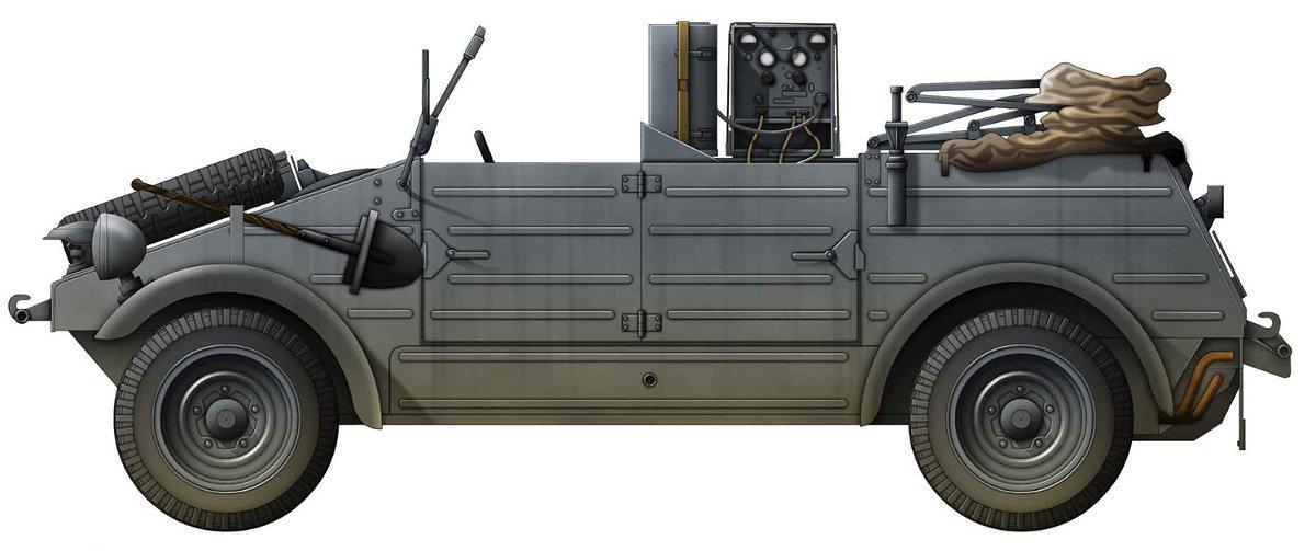Dragon 1:35 Kübelwagen Radio Car