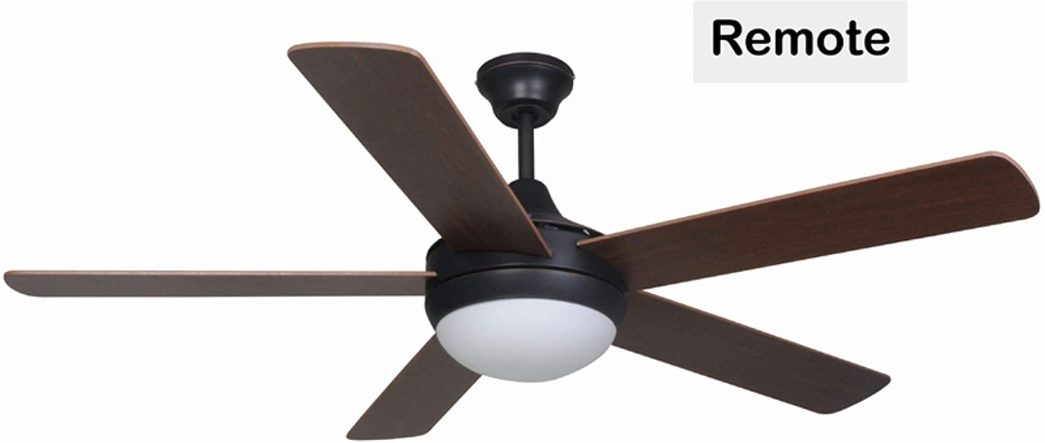 Hardware House 207249 Ceiling Fan, Oil Rubbed Bronze Finish