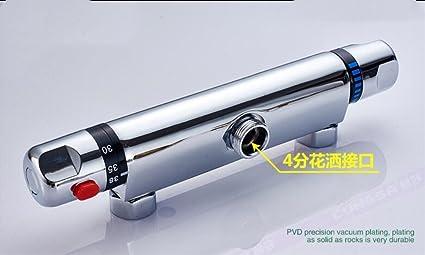 Mangeoo Temperatura constante temperatura Solar oculto de la válvula mezcladora de calefacción calentador de agua de