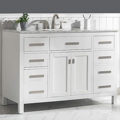 LUCA Kitchen Bath LC48PWW Tuscan 48″ Single Bathroom Vanity Set