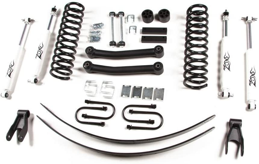 84-01 Cherokee XJ 4WD 670N2-3-inch Suspension Lift Kit w//Premium N2.0 Shocks for Jeep Rough Country