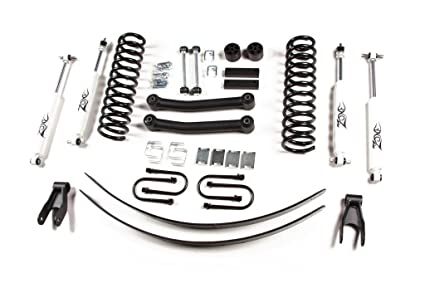 Jeep Cherokee XJ 4.5u0026quot; Full Suspension Lift Kit Zone Offroad Top Rated!  (Fits