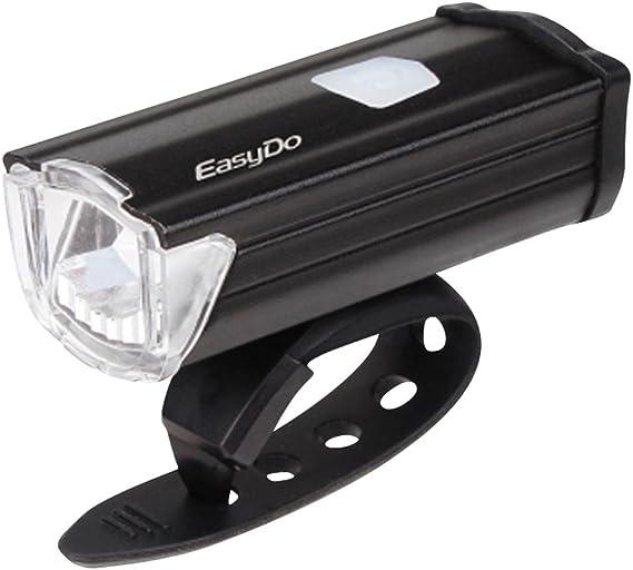 Super brillante 3 modos 3W LED bicicleta luz 200 Lumens potente ...