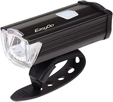 Super brillante 3 modos 3W LED bicicleta luz 200 Lumens potente ...