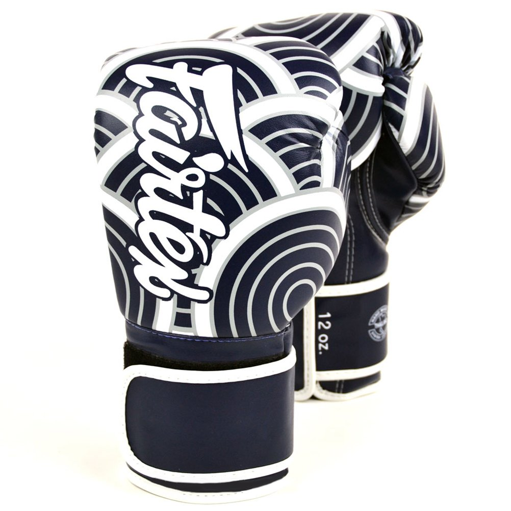 Fairtex BGV14 Microfibre Boxing Gloves Muay Thai Boxing, MMA, Kickboxing,Training Boxing Equipment, Gear for Martial Art (Japanese Art, 12 oz)