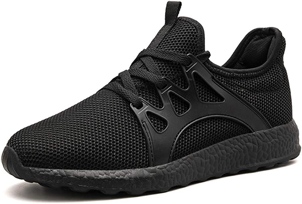 QISHENG Men s Sneakers Gym Tennis Running Shoes Ultra Lightweight Casual Breathable Mesh Walking Athletic Sports Shoes Slip On US7-11