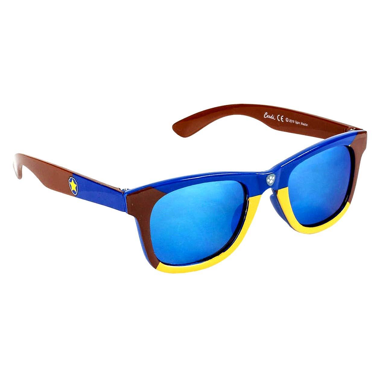 Anni 3+ Lenti Colore Blu e Protezione 100/% UV400 Materiale Leggero Occhiali da Sole Bambino Premium Paw Patrol Chase