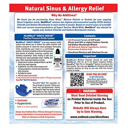 neilmed sinus rinse instructions