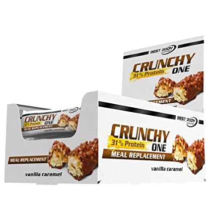 Best Body Nutrition Crunchy One Barrita de Proteína - 20 Barras