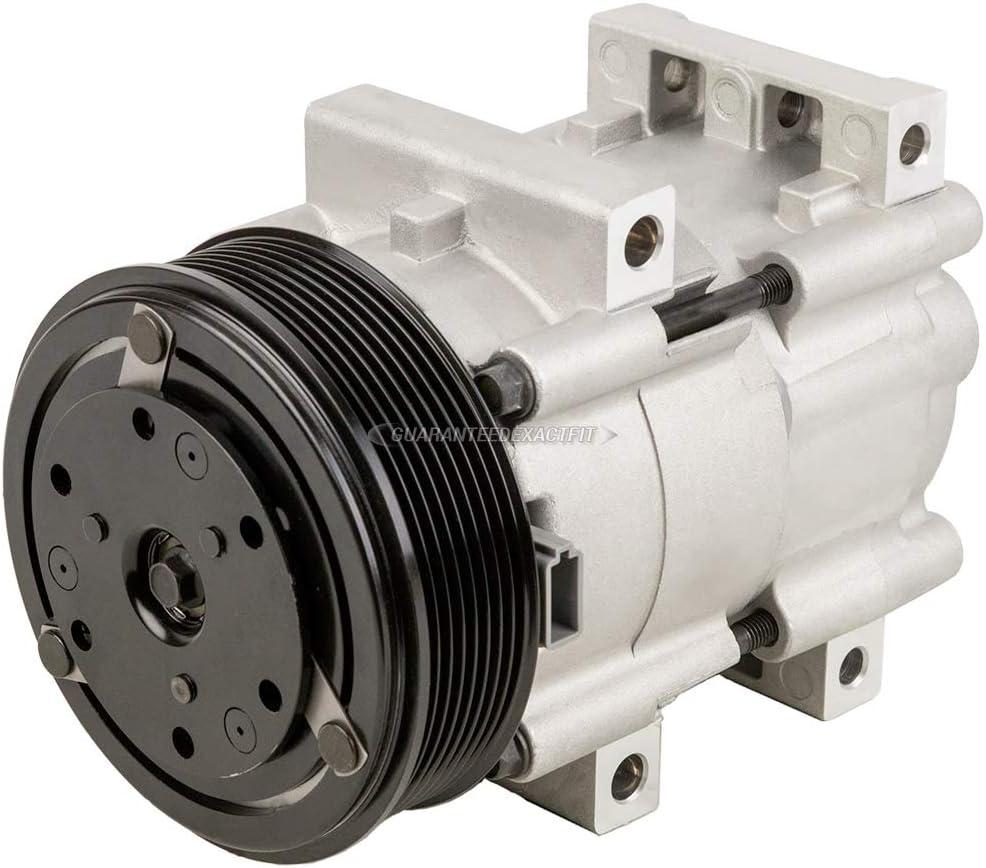 For Ford E-350 Econoline /& E-350 Super Duty AC Compressor w//A//C Repair Kit BuyAutoParts 60-82008RK New