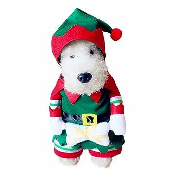 Amazon.com: cleana Arts Cool mascota perro disfraces de ...