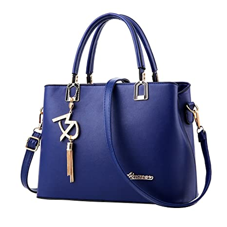 Amazon.com  New Ladies Bag Simple Handbag Shoulder Bag 124fb0a341bbe