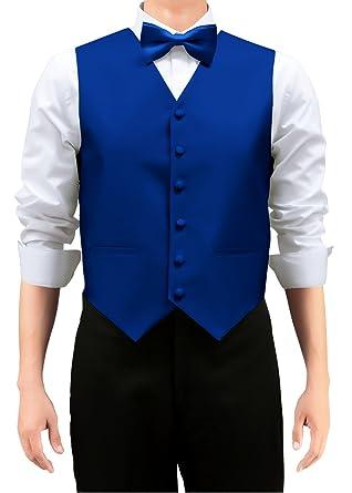 Retreez chaleco tejido de color sólido con corbata, pajarita 3 ...