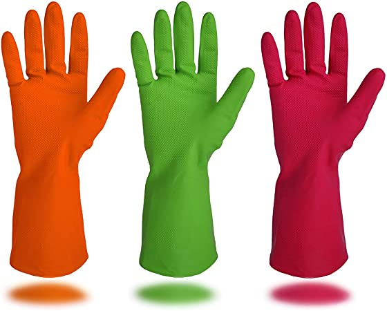 Rubber Cleaning Glove optionally also for our small