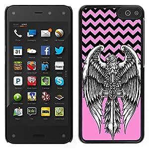Dragon Case - FOR Amazon Fire Phone - Forget the time - Caja protectora de pl??stico duro de la cubierta Dise?¡Ào Slim Fit