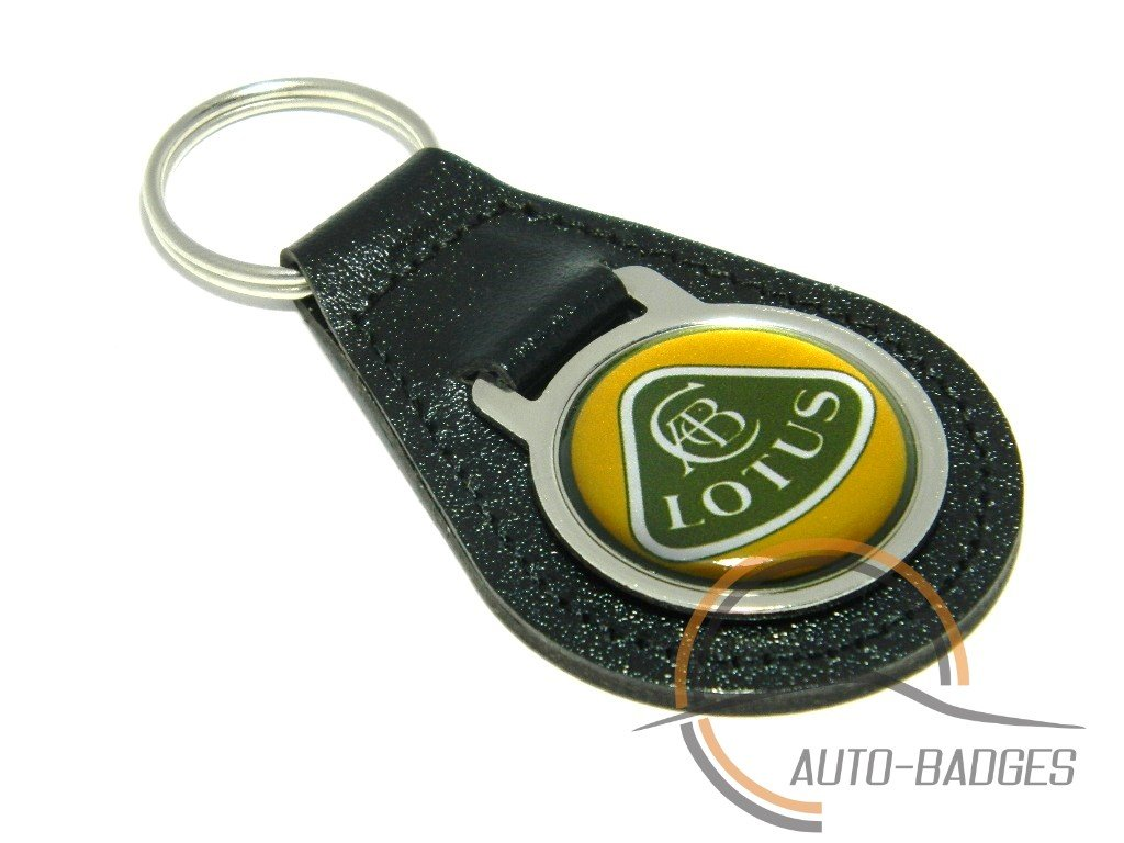Lotus Porte-cl/és de qualit/é en cuir noir Porte-cl/és