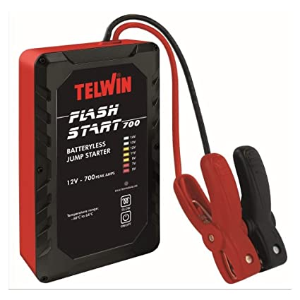 Telwin 829567 Modelo Flash Start 700 Arrancador sin Bater/ía 205mm x 125mm x 55mm