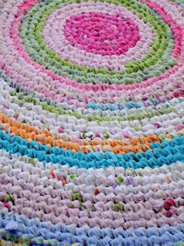 Amazon Rag Rug Braided Shabby Bohoreclaimed Recycled