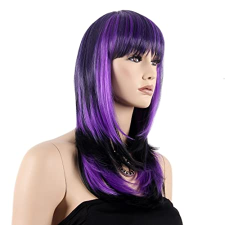 Amazon.com : Stfantasy Wigs for Women Long Straight Heat Friendly Synthetic Hair 23
