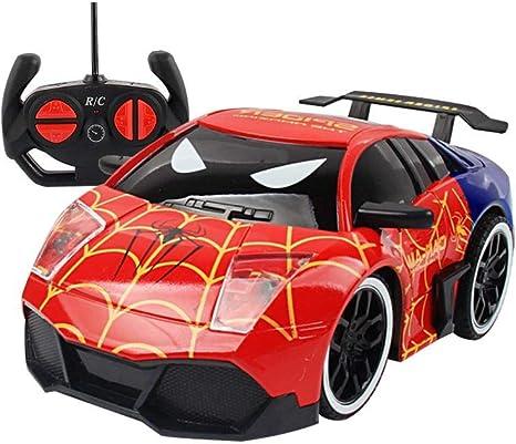 Hifuture Kinder Spielzeug Auto Superhelden Typ Mini Rc Auto Fernbedienung Micro Racing Auto Elektrische Spielzeug Fahrzeuge Geschenk Fur Jungen Madchen Kinder Kleinkinder Spiderman Amazon De Musikinstrumente