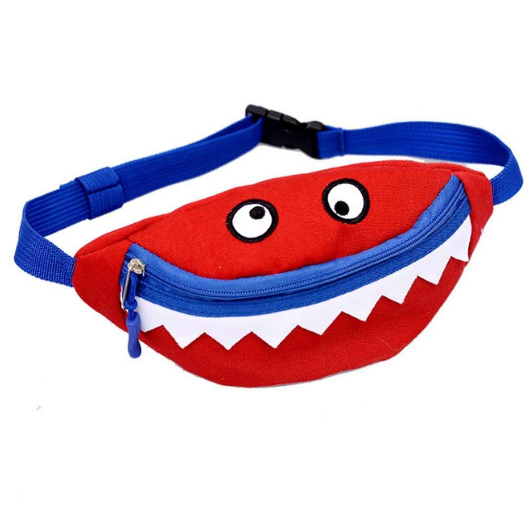 Xherry Cute girls Waist Bags Color Blue