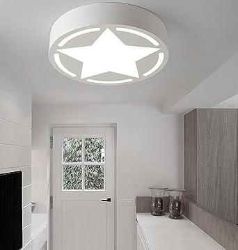 Moderne Energiesparende Deckenleuchte     Moderne Minimalistische Karikatur  Kinderzimmer Schlafzimmer Fünfzackigen Stern Runden LED