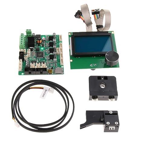 Sharplace Cable Motor Pantalla LCD Base Kit de Impresora 3D Accesorio Ordenador Portátil Cámara Fotografía