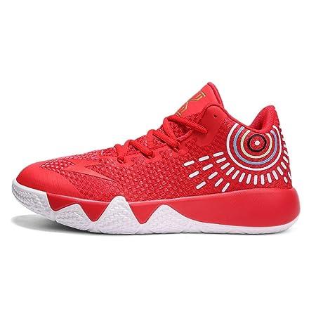 YSZDM Zapatos de Baloncesto, Volando Tejido Resistente al Desgaste ...