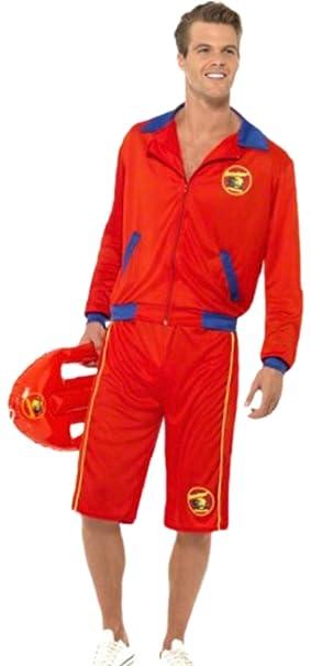 erdbeerloft - Hombre Carnaval Completo Disfraz Baywatch retter, M ...
