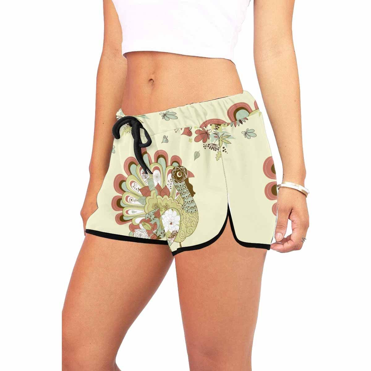 INTERESTPRINT Comfy Drawstring Workout Lounge Shorts for Women XS-XXL
