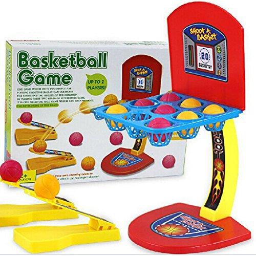 Basketball Shooting Game, UPmall Desktop Table Basketball Games Classic Arcade Games Basketball Hoop Set, Fun...