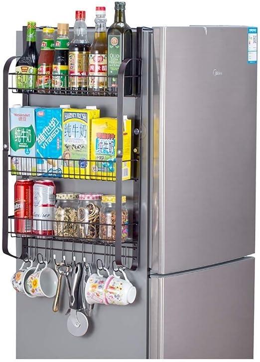 Estante lateral YJLGRYF para refrigerador, soporte de pared ...