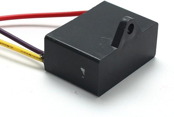 2.5 Uf 3 Legare 250Vac Ventilatore A Soffitto Condensatore 3 Fili LaDicha Cbb61 1.5 Uf