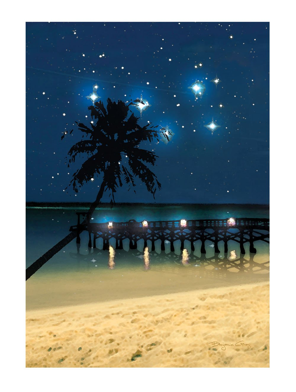 Amazon ohio wholesale radiance lighted canvas wall art starry amazon ohio wholesale radiance lighted canvas wall art starry night beach canvas design from our everyday collection prints posters prints aloadofball Image collections
