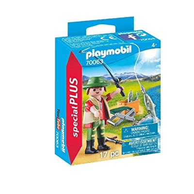 PM Playmobil Fisherman: Toys & Games