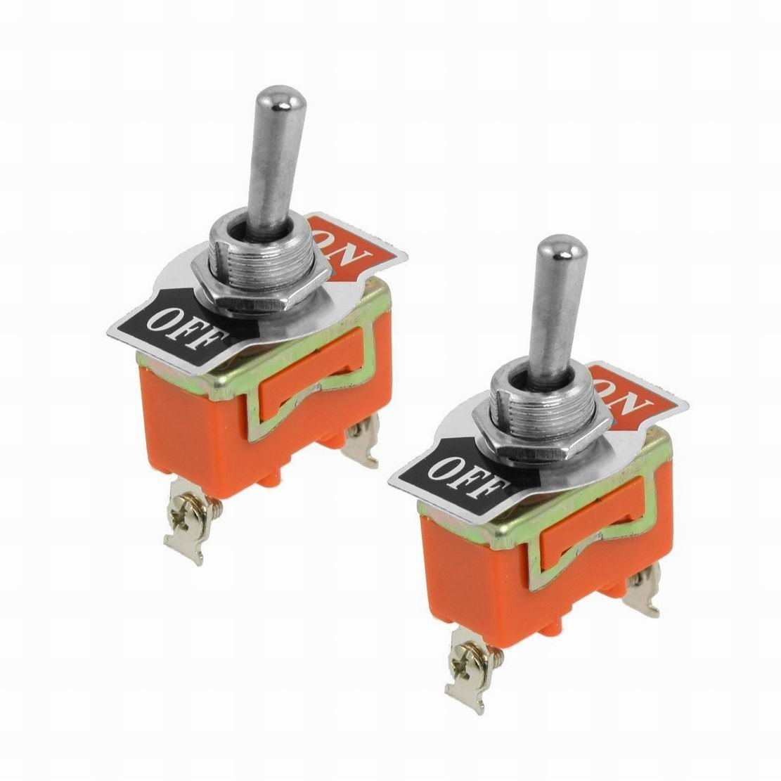 Ac 250v 15a Spst 2 Position On Off Toggle Switch Pcs By Houseuse Heavy Duty Onoff