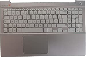 New Laptop Replacement Keyboard for Samsung NP770Z5E 780Z5E NP780Z5E NP880Z5E BA75-04690A UK Layout with C Shell