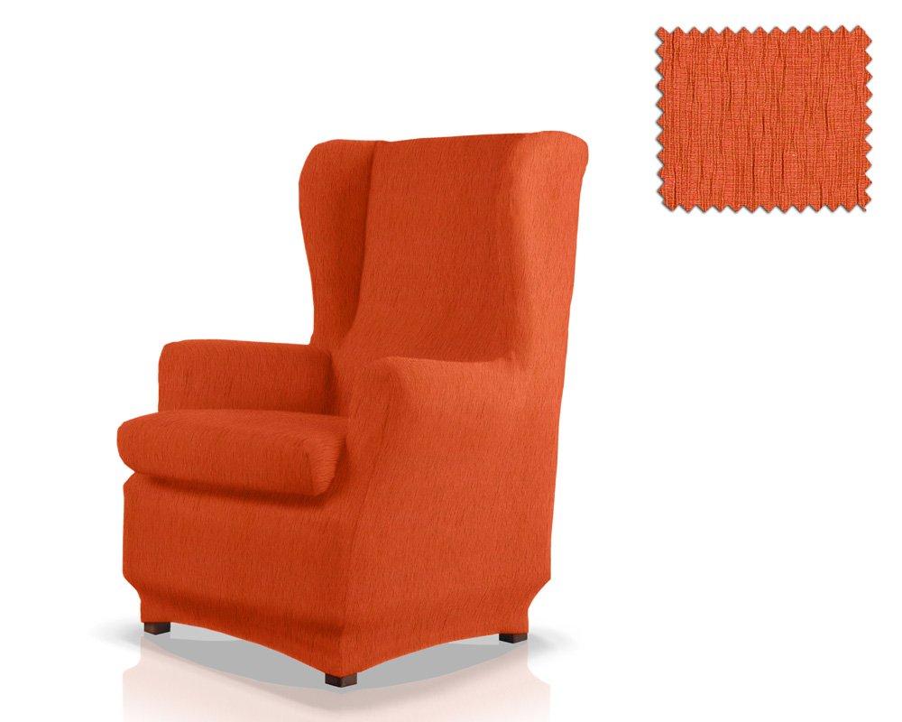 JM Textil Funda de sillón orejero elástica Haber Tamaño 1 Plaza (Estándar), Color 10