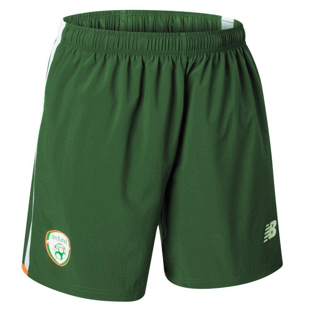 96e93d506b90f New Balance FAI Republic of Ireland 2017/18 Away Shorts - Adult ...