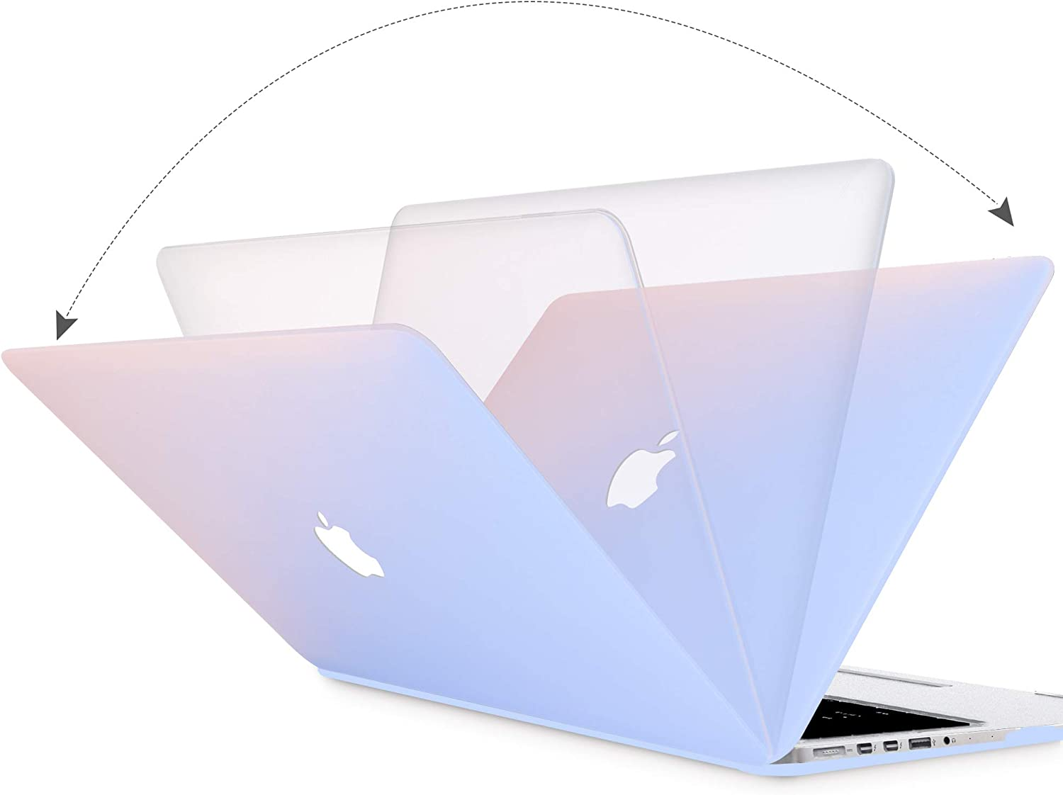 Clear MacBook Air 13 Inch Case 2020 2019 2018 Release A2179 A1932 Anban 3 in 1 Ultra-Slim Crystal Clear Plastic Hard Shell Cover with Keyboard /& Screen Protector for MacBook Air 13 Inch with Touch ID