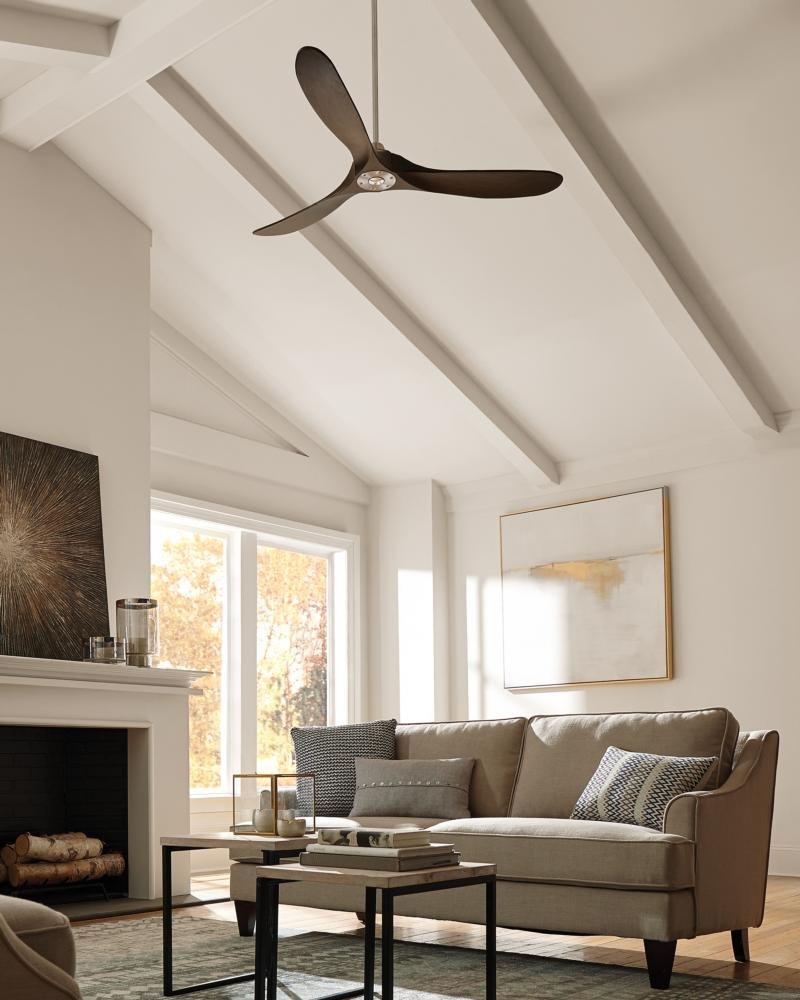 Monte Carlo 3MAVR60BS Maverick Modern Ceiling Fan, 60\