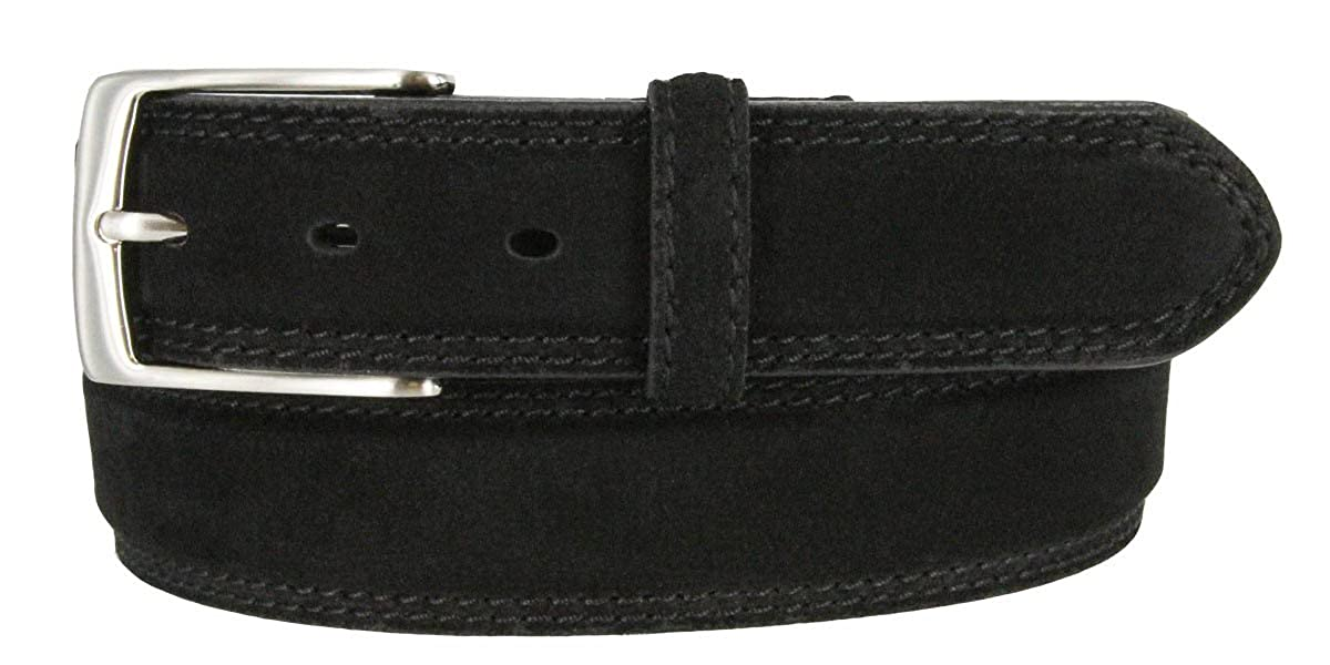 Fashion /& Classic Design for Dress and Causal Paanter Men Genuine Full Grain Leather Belt with Single Prong Buckle