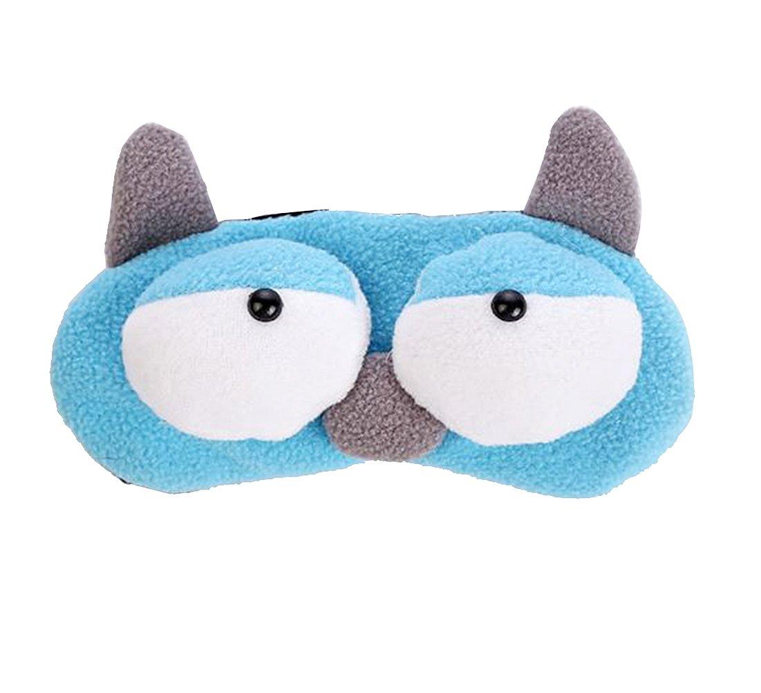 Maschera occhi per dormire sacchetto per ghiaccio incluso 20 x 7 5