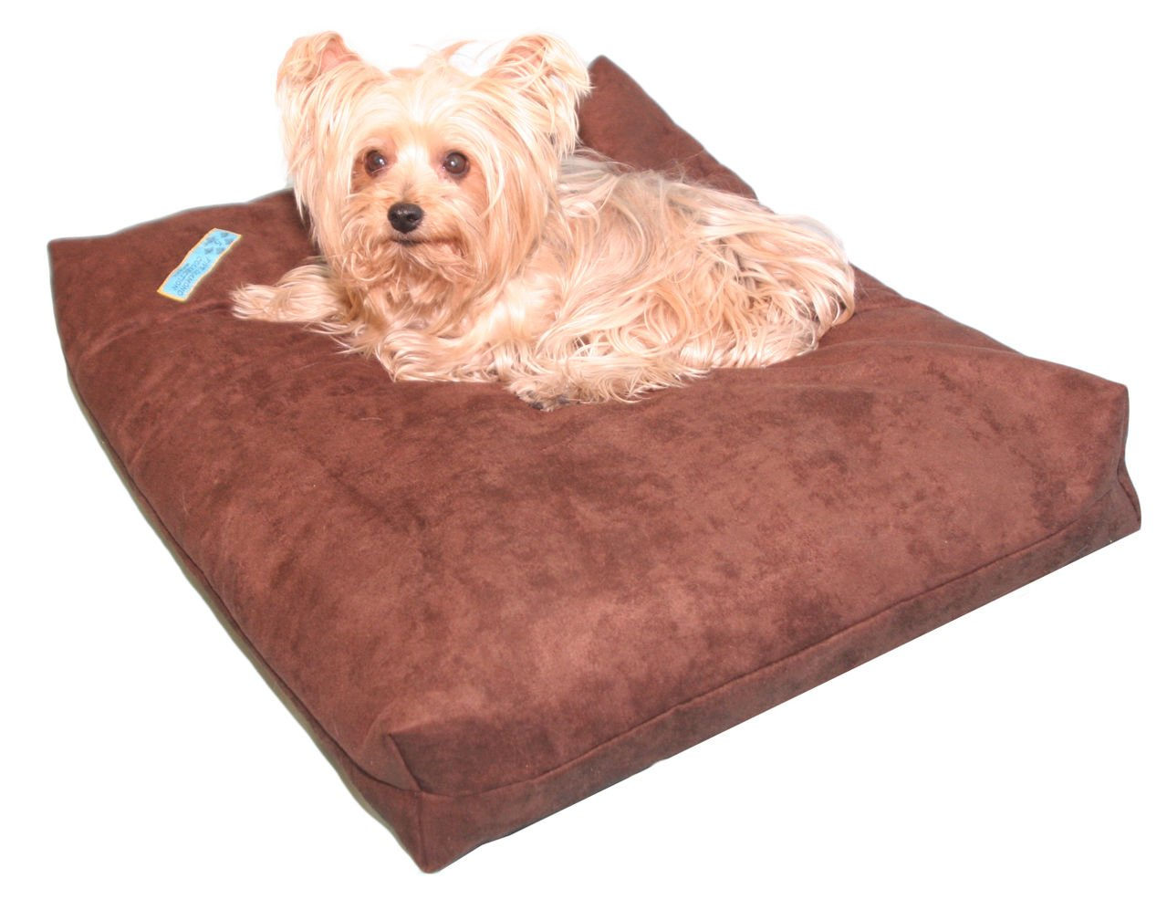 Five Diamond Collection Shredded Memory Foam Orthopedic Dog Bed with Removable Washable Cover and Water Proof Inner Fabric, Made in USA, for Small, Medium, Large, and Extra Large Breed Dogs