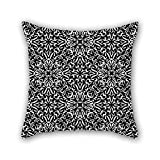NICEPLW Bohemian throw pillow covers 18 x 18 inches / 45 by 45 cm gift or decor for shop,dining room,adults,pub,home theater,sofa - twin sides