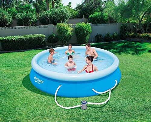Bestway's Fast Swimming Pool Set 12' x 30'' with Filter Pump by Bestway'sFast