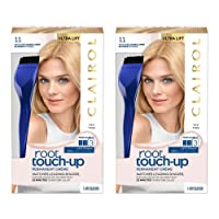 Clairol Root Touch-Up Permanent Hair Color Creme, 11 Ultra Light Blonde, 2 Count